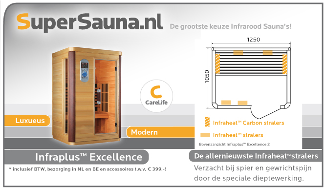 infrarood sauna 2 persoons ook met duo straler supersauna. Black Bedroom Furniture Sets. Home Design Ideas